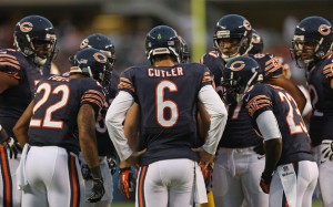 Chicago Bears Huddle